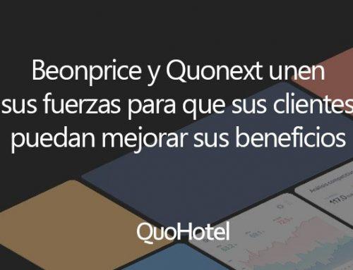 Quonext y Beonprice llegan a un acuerdo de colaboración para que sus clientes puedan mejorar la optimización de precios e incrementar la rentabilidad
