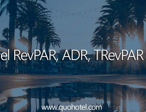 Ratios RevPAR, ADR, TRevPAR y GOPPAR