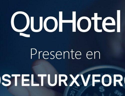 QuoHotel presente en el XV Foro Hosteltur como patrocinador oficial